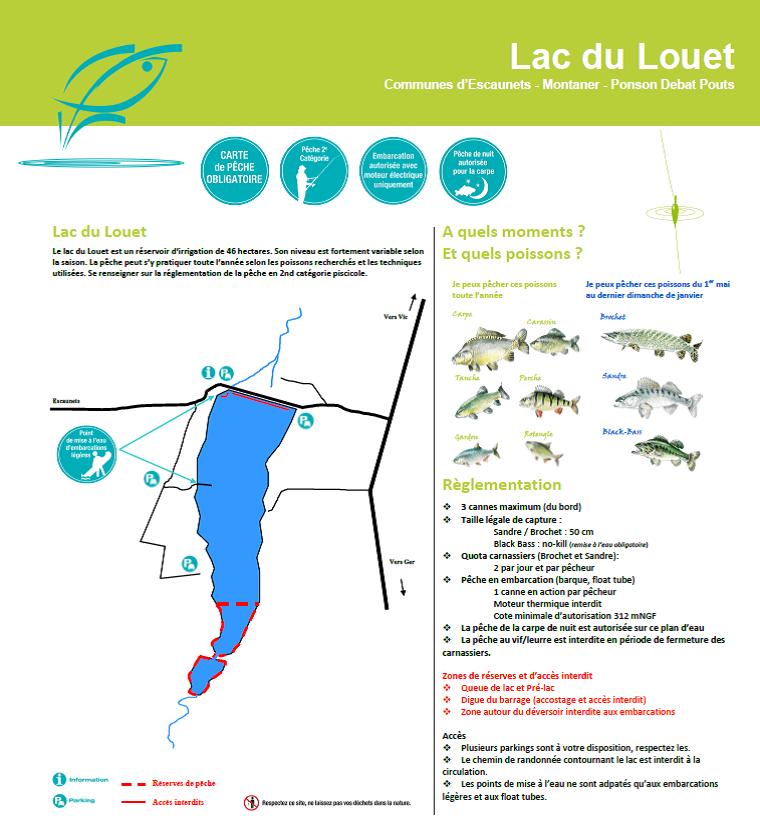 Lac du Louet - Hautes-Pyrénées (65) - Geocarp.com