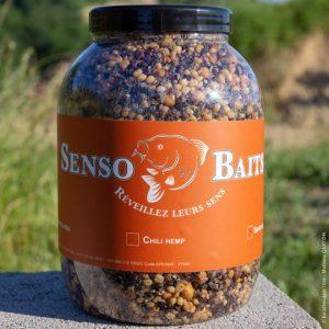 Senso Baits - Société de conception, fabrication et revente d'appâts de haute qualité destinés à la pêche de la carpe, vente d'article de pêche.