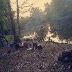 Photo de pêche à la carpe de nuit