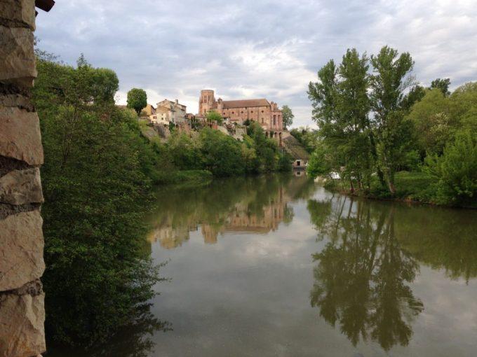 L'Agout et la cathédrale de Lavaur
