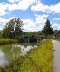 Canal du Rhône au Rhin – Secteur Confluence Doubs à Écluse 31 de Pompierre