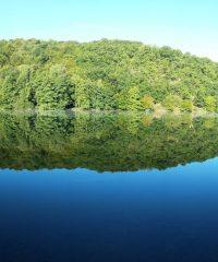 Lac du barrage de l'Age