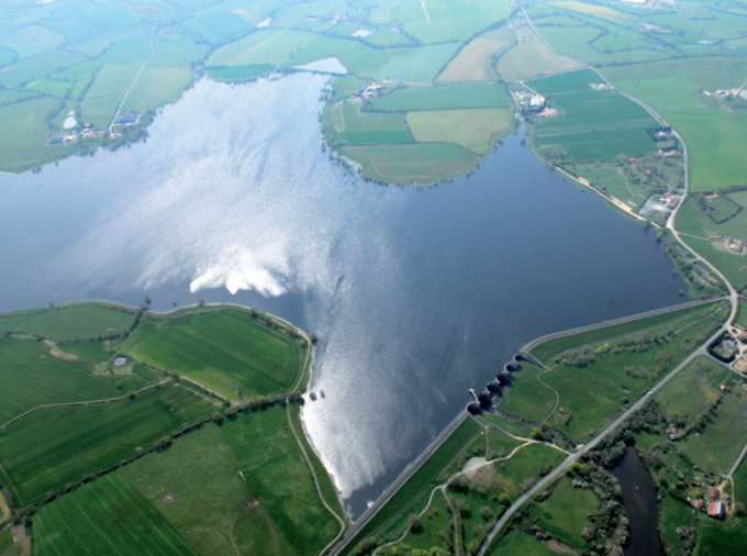 Lac du Verdon - Vu du ciel