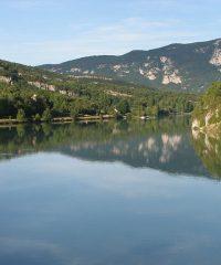 Le Rhône – Secteur Brégnier-Cordon