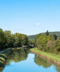 Le Canal de Bourgogne – Secteur Eguilly