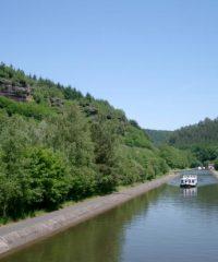Le canal de la Marne au Rhin – Secteur Wingersheim à Eckwersheim