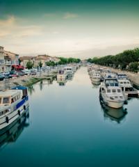 Le Canal du Rhône à Sète -Secteur Beaucaire