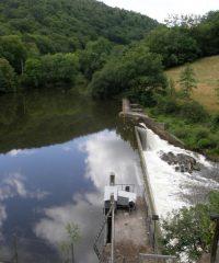 Lac de barrage de Pouch