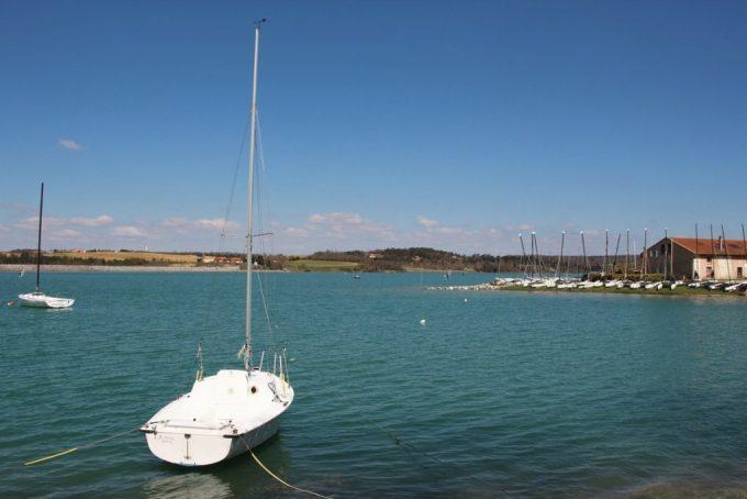 Le lac de la Ganguise