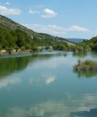 Lac de retenue de la Laye