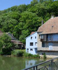 Le Doubs – Secteur Au droit de l'écluse 25 à Barrage de l'Isle-sur-Doubs