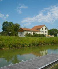 Canal du Rhône au Rhin – Secteur Colombier-Fontaine à Blussans