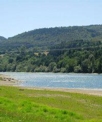 Lac de Barrage Moux
