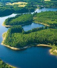 Lac de Barrage du Mont Larron