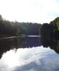Fleuve Le Blavet (écluse de Minazen)