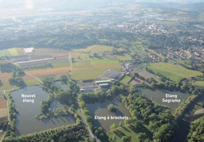 Nouvel étang Andrézieux-Bouthéon