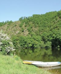 Lac de barrage de Saint-Philbert
