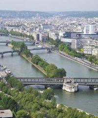 La Seine – Paris île aux Cygnes
