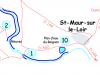 Parcours plan d'eau du Baignon