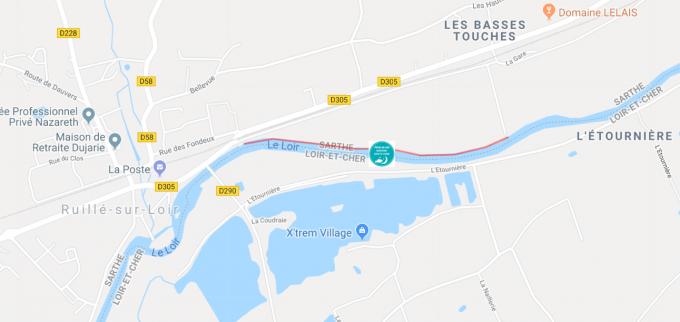 Parcours de nuit - Secteur Ruillé sur Loir