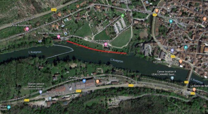 L'Aveyron - Parcours Saint-Antonin-Noble-Val