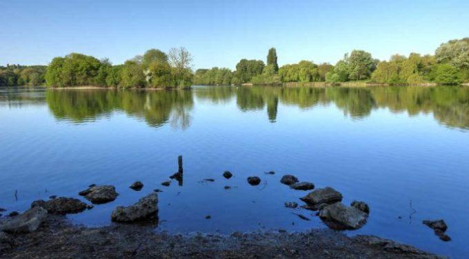 Bassin de retenue du Carouge