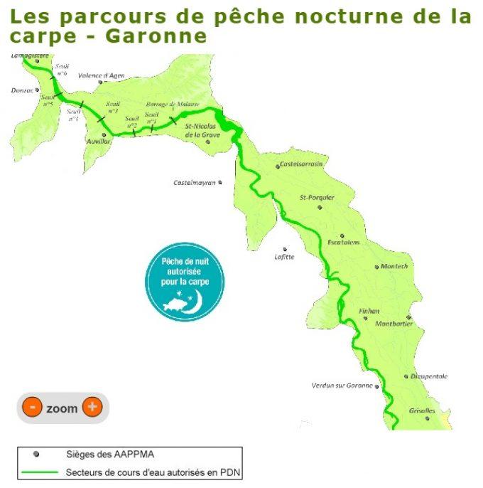 La Garonne - PDN sur tout le département