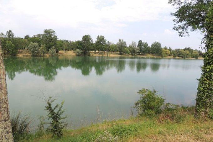 Lac bleu de Bergon
