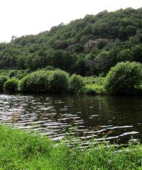 Fleuve le Blavet (écluse de Roch)