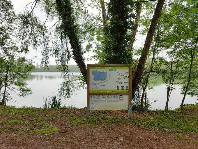 Plan d'eau Les Fontaines