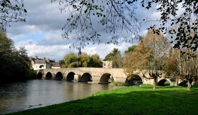 L'Huisne à Montfort le Gesnois