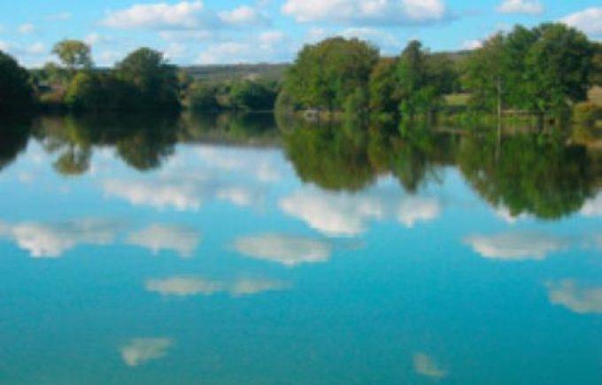 Plan d'eau fédéral du Moulin de l'Abbaye d'Etival