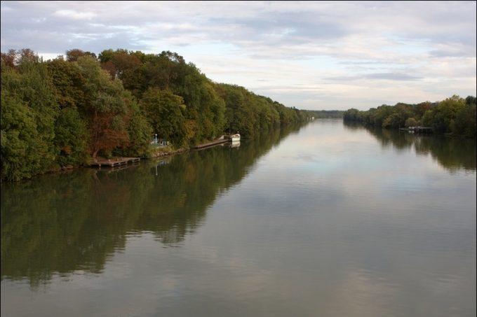 La Seine à Ris-Orangis