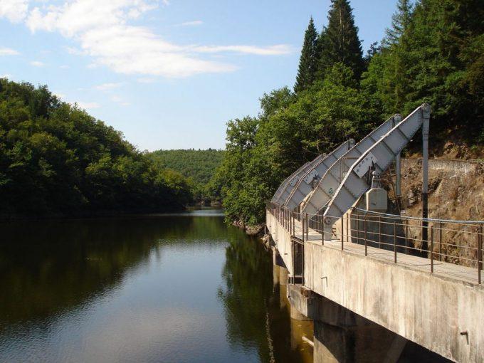 Lac barrage des Chaumettes - Pont Rouge