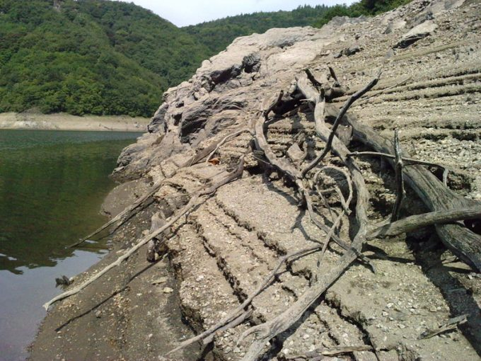 Le barrage de l'Aigle