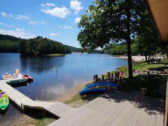 Base de loisirs - Lac de Barrage de Bariousse
