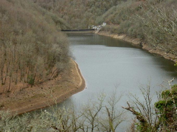 Lac barrage Gour Noir