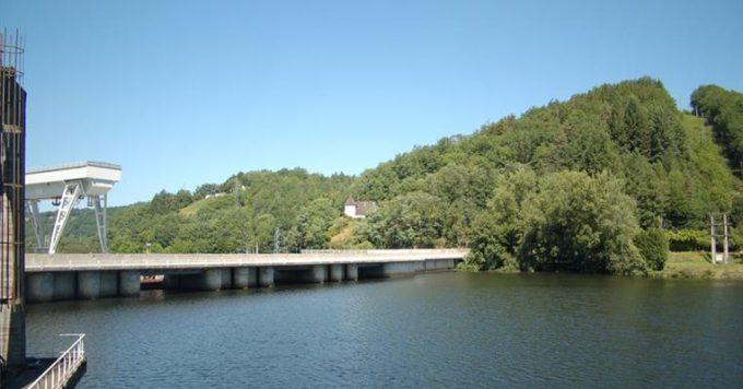 Lac de barrage - Le Sablier
