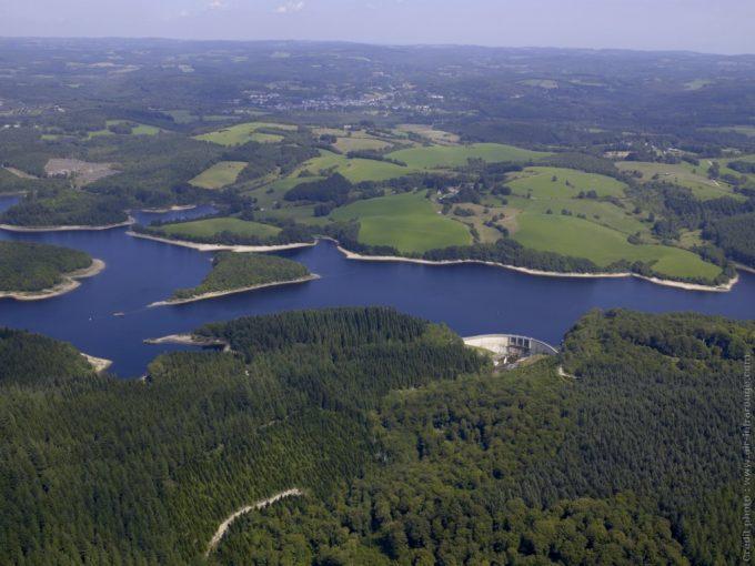 Lac de barrage Viam