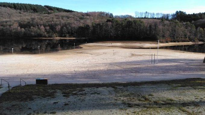 Lac de Barrage de Bariousse